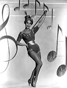 Showgirl Photo Prints - Jane Powell, Early 1950s Print by Everett