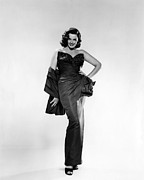 Full-length Portrait Metal Prints - Jane Russell, Ca. Early 1950s Metal Print by Everett
