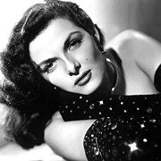 Vamp Framed Prints - Jane Russell, Ca. Late 1940s Framed Print by Everett