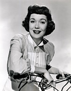 Wyman Prints - Jane Wyman, Warner Brothers, Late 1940s Print by Everett