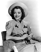 Gaynor Prints - Janet Gaynor, 1938 Print by Everett