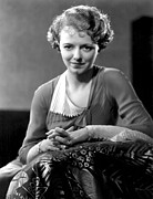 Gaynor Framed Prints - Janet Gaynor, Fox Film Corp, 1932 Framed Print by Everett