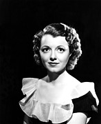 Gaynor Prints - Janet Gaynor, Late 1930s Print by Everett