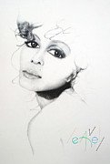 Janet J Print by Bill Leavell