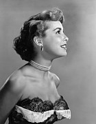 Choker Metal Prints - Janet Leigh, Ca. Early 1950s Metal Print by Everett