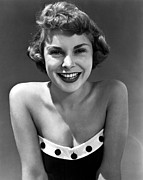 Catalina Prints - Janet Leigh In Swimsuit By Catalina Print by Everett