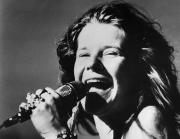 Microphone Metal Prints - Janis Joplin (1943-1970) Metal Print by Granger