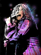 Singer  Paintings - Janis Joplin by Paul Sachtleben