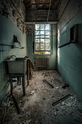 Abandoned Building Prints - Janitors Closet Print by Gary Heller