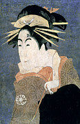Portrait Woodblock Posters - JAPAN: ACTOR, c1794 Poster by Granger
