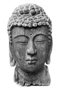 Statue Portrait Metal Prints - Japan: Buddha Metal Print by Granger
