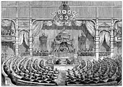 Statesman Framed Prints - Japan: Parliament, 1890 Framed Print by Granger