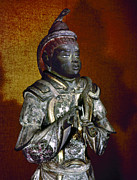 Lacquer Photos - Japan: Sakara Statue by Granger