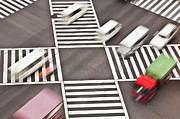 Crosswalk Framed Prints - Japan, Tokyo, Shibuya Crossing, Elevated View Framed Print by Bryan Mullennix