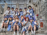 Team Art - Japan Womens Soccer Team by David Bearden