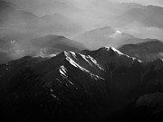 Mountains Posters - Japanese Alps Poster by José Rentería Cobos photography