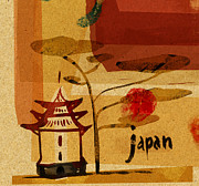 Japanese Building Print by Cargo