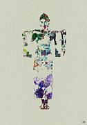 Japanese Dance Print by Irina  March