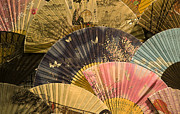 Paper Folding Art - Japanese fans by Katja Zuske