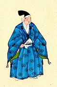 Kimonos Photos - Japanese Nobleman 1878 by Padre Art