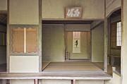 Japanese Tea Room Print by Rob Tilley