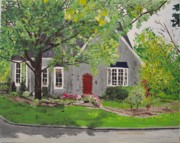 Arkansas Paintings - Jared House by Sharon  Gonzalez