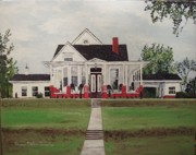 Arkansas Paintings - Jarrard House by Sharon  Gonzalez