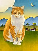Cats Prints - Jasper Print by Stacey Neumiller