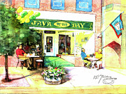 Java Paintings - Java by the Bay by Dean Gleisberg