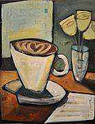 Bistro Paintings - Java Love by Tim Nyberg