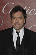 Black Tie Framed Prints - Javier Bardem At Arrivals For 22nd Framed Print by Everett