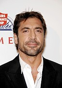 Arclight Hollywood Cinerama Dome Framed Prints - Javier Bardem At Arrivals For Love In Framed Print by Everett