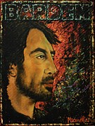 Barcelona Painting Originals - Javier Bardem by Martha Bennett