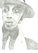 Jay Z Drawings Originals - Jay Z by Gary Miller