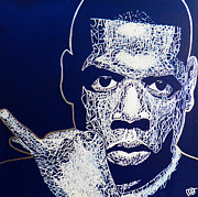 Jay Z Framed Prints - Jay-Z Framed Print by Visual Poet