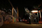 Subway Metal Prints - Jayhoc waits Metal Print by Jason Hochman