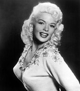 1950s Portraits Prints - Jayne Mansfield, 1957 Print by Everett