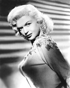 1957 Movies Photo Prints - Jayne Mansfield, C. 1957 Print by Everett