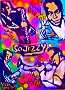 Tony B. Conscious Painting Prints - Jazz 4 All Print by Tony B Conscious