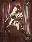 Jazz Print by Anastasis  Anastasi