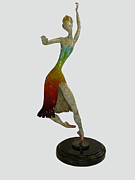 Elegant Sculptures - Jazz Ballet by Esther Wertheimer