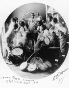 Reese Framed Prints - Jazz Band, 1914 Framed Print by Granger