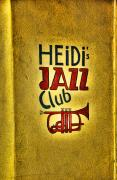 Sign Pyrography Framed Prints - Jazz club sign Framed Print by Steve Cole