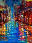 Rainy Posters - Jazz Drag Poster by Debra Hurd