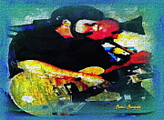 Jazz Duo Print by Sadie Reneau