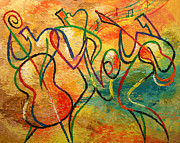 Music Paintings - Jazz-funk by Leon Zernitsky