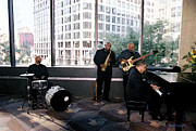 Pianists Prints - Jazz In The City Print by Walter Neal