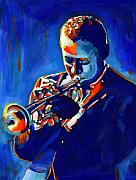 American  Paintings - Jazz Man Miles Davis by Vel Verrept