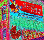 Harlem Digital Art Metal Prints - Jazz Museum Metal Print by Steven Huszar
