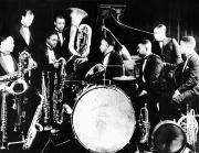 Drummer Photo Metal Prints - JAZZ MUSICIANS, c1925 Metal Print by Granger